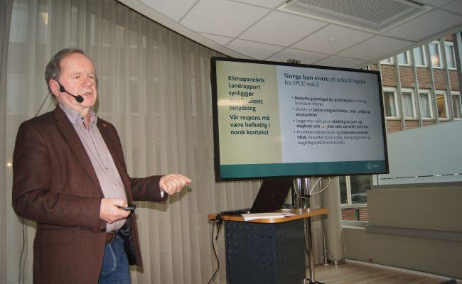 Arne Bardalen fra NIBO