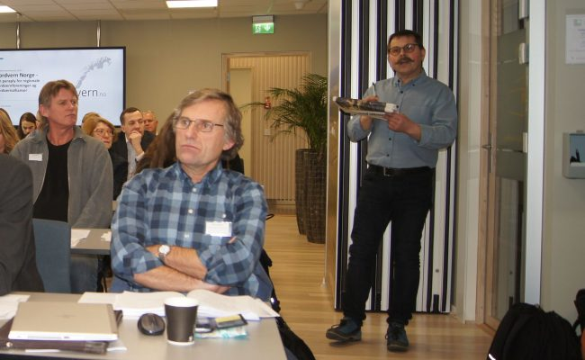 Ståle Sakseide fra Jordvern Bømlo trakk fram viktigheten av en overbygning og at vi må favne vidt