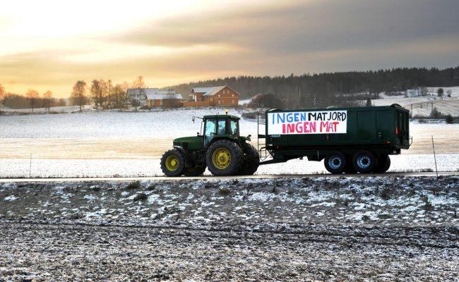 Regjeringen sier nei til nedbygging av Delijordet Foto: Siri Juell Rasmussen